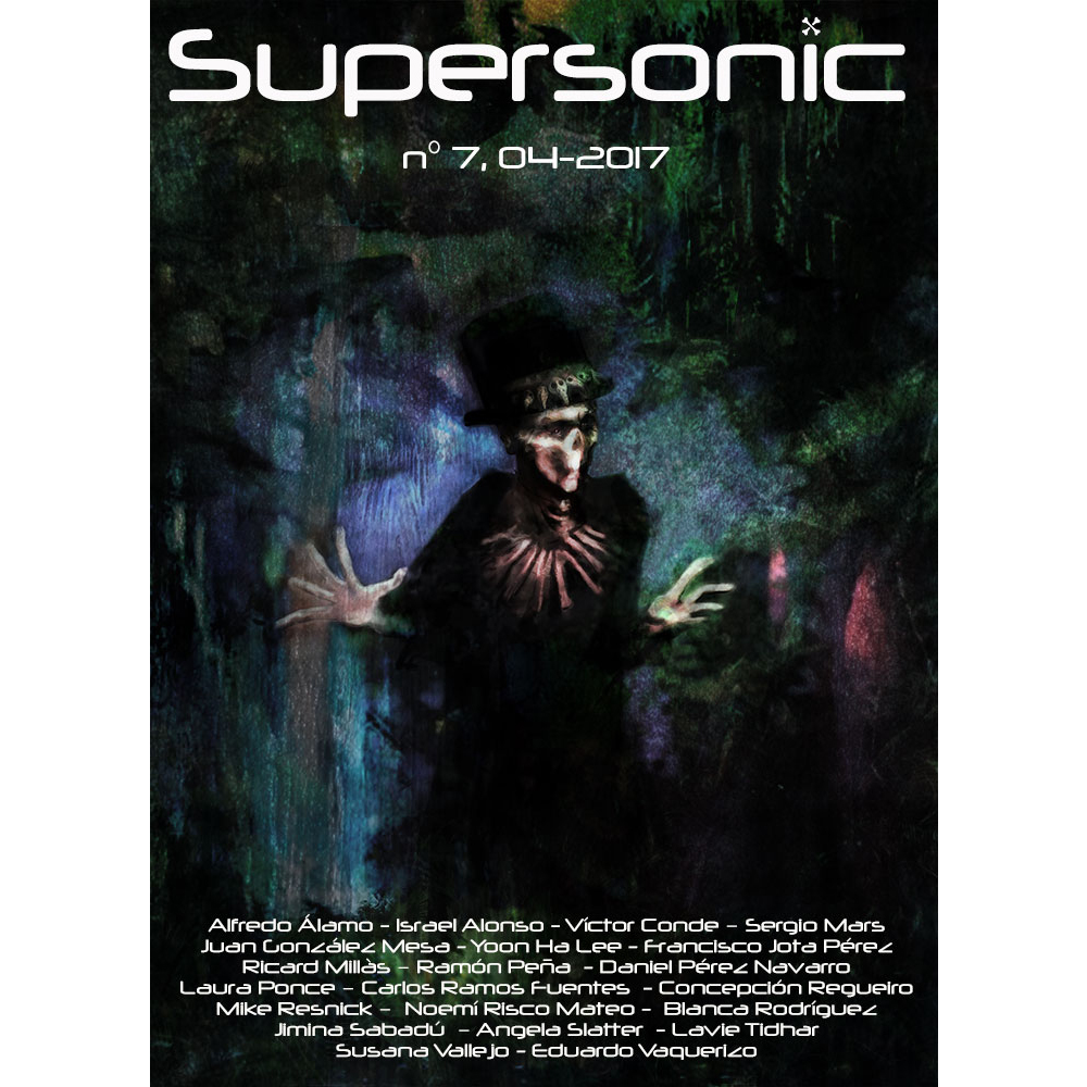 Portada de revista Supersonic